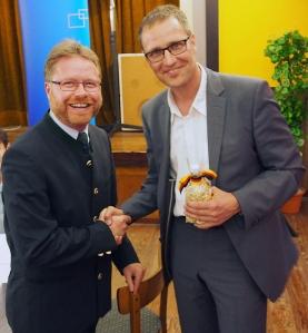 Das neue CDU-Spitzenduo? Dr. Roy Kühne (rechts) und Dr. Bernd von Garmissen.