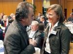 Dr. Sabine Michalek mit Superintendent Heinz Behrends.