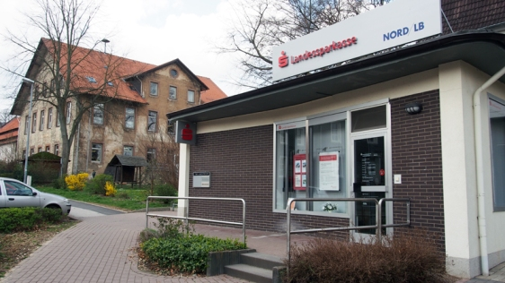 Die Filiale der Norddeutschen Landessparkasse in Greene schließt zum 31. März 2014.