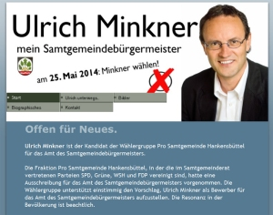 Screenshot Website Ulrich Minkner 16.04.2014