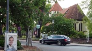 Wahlplakat Minkners in Hankensbüttel.