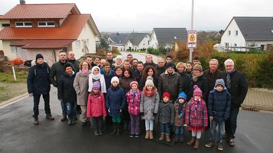 Sind sauer auf die Stadt Einbeck: Die Anlieger des Alfred-Nobel-Rings im Bebauungsgebiet Weinberg sollen mehr Erschließungsbeitrag bezahlen, als ursprünglich angekündigt war.