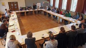 Treffen des Runden Tisches am 17. Februar im Gemeindehaus an der Lessingstraße.