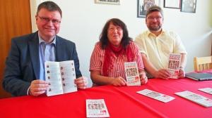 Zwischenbilanz und Zukunftsziele (v.l.): Rolf Hojnatzki, Margrit Cludius-Brandt, Marcus Seidel.