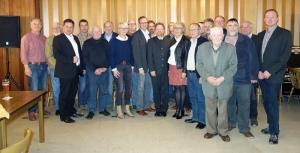 Auf Tour: Landratskandidat Dr. Bernd von Garmissen mit dem CDU-MdB Dr. Roy Kühne bei den Christdemokraten in Einbeck Auf dem Berge. Foto: CDU Einbeck