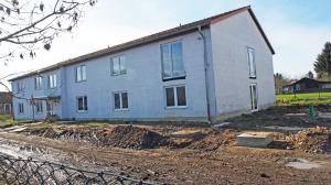 Das wird das neue Haus der Jugend, die Arbeiten im Innern laufen.