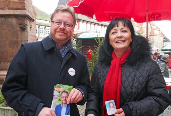 Dr. Bernd von Garmissen (CDU), Astrid Klinkert-Kittel (SPD).