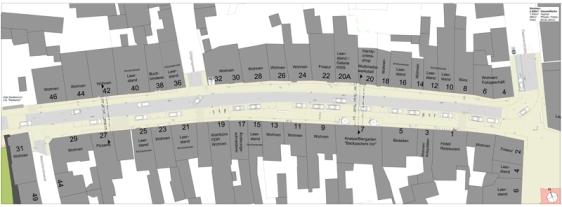 So soll die Tiedexer Straße künftig aussehen. (c) Ing.-Gemeinschaft Schubert, (Hannover