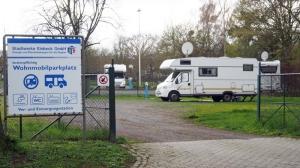 Kostet jetzt eine Gebühr: der Wohnmobilparkplatz am Ochsenhofweg in Einbeck.