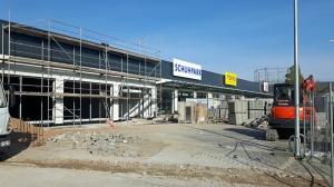 Neues Handelszentrum zwischen Grimsehlstraße und Altendorfer Tor.