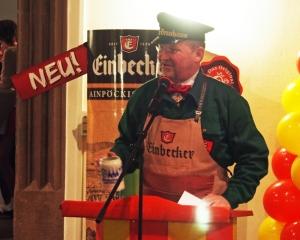 Albert Eggers als Bierkutscher.