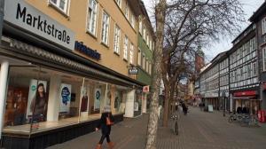 Einbecks 1A-Lage: die Marktstraße.
